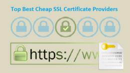 Top Best Cheap SSL Certificate Providers