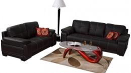 leather sofa image