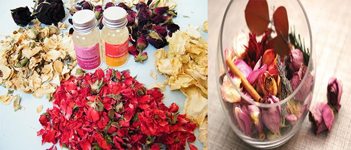 Make Potpourri using Dried Flowers
