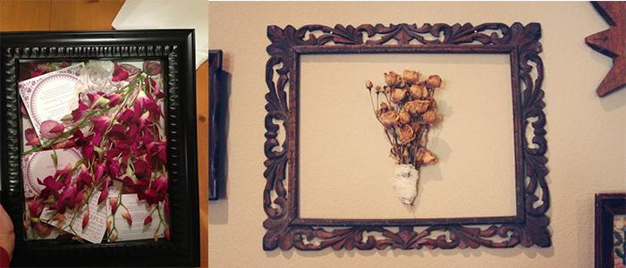 Put In Frame and Make Wall Decoration