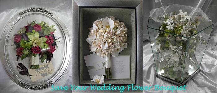 Turn it into everlasting wedding Flowers Bouquets