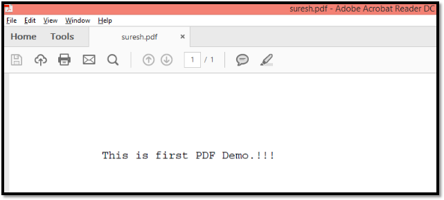 How to use Apache PDFBox 1