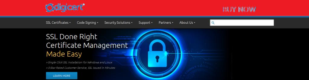DigiCert ssl certificate providers
