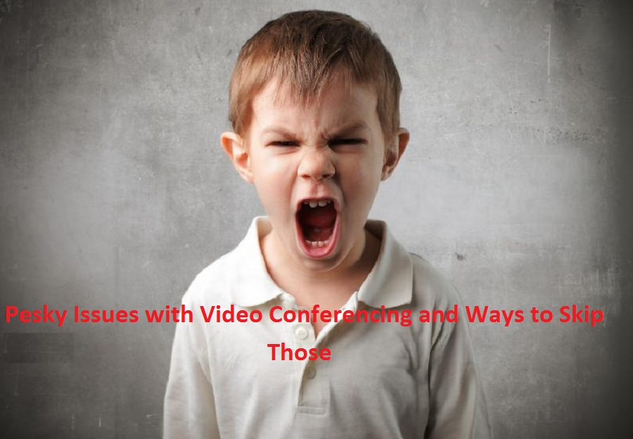 pesky issues with video conferencing