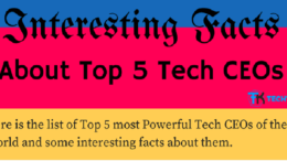 interesting facts about top 5 ceo
