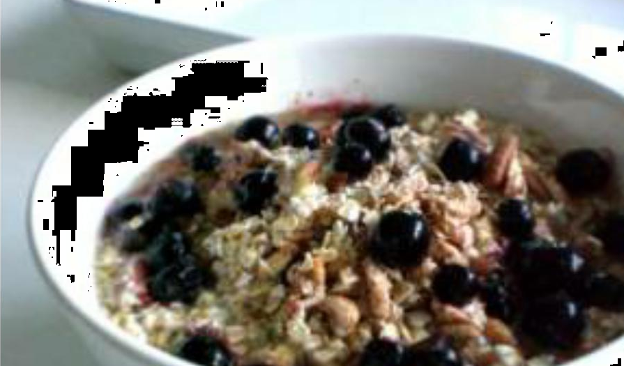 Dairy-Free Blueberry Muesli