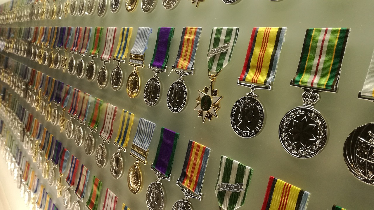 Important Military Medals