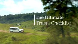 The Ultimte Travel Checklist