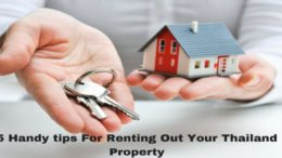 5 Handy tips For Renting Out Your Thailand Property