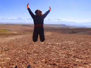 Escaping from the city to Agafay Desert