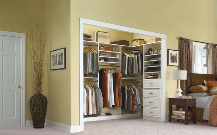 How To Organize Your Bedroom Closet With These Simple Tips