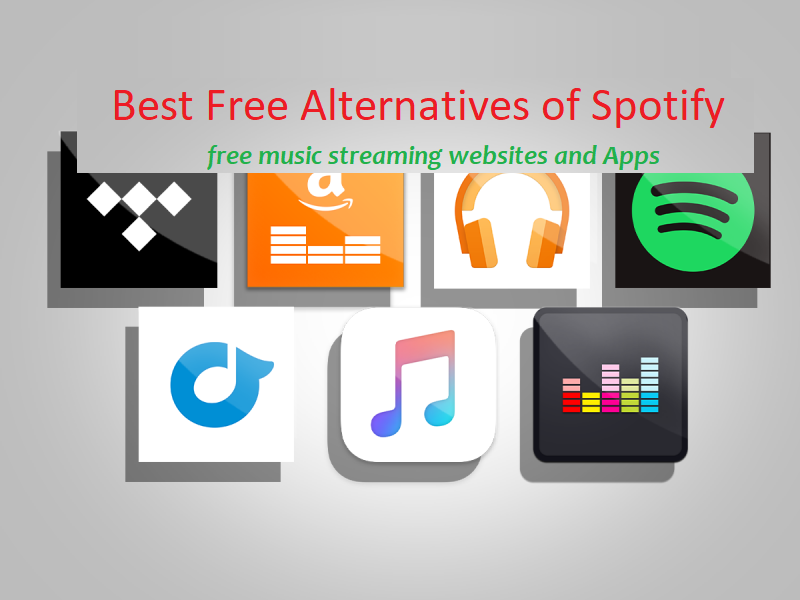 Best Free Alternatives of Spotify - Free Music Streaming Websites and Apps-1