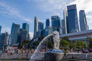 Singapore Merlion Park Image
