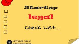 Startup Legal checklist - 570