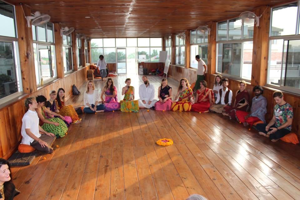 Yoga Teacher training1