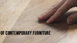 Advantages of Contemporary Furniture