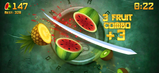 Fruit Ninja - Free Games That Don't Need Wi-Fi