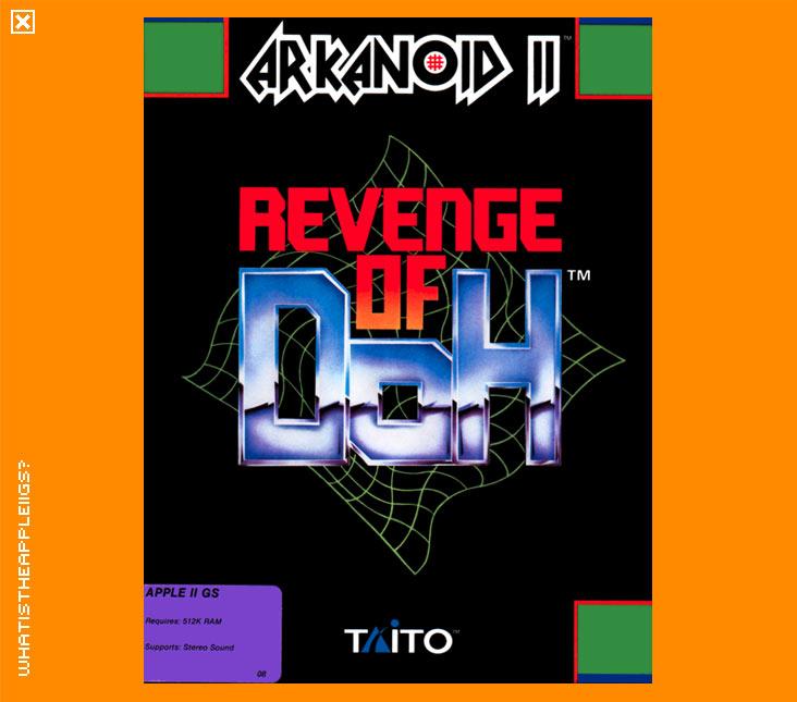 Arkanoid II-Revenge of Doh