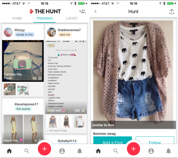 The hunt - Best Fashion apps