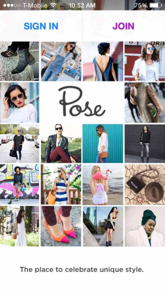 pose fashion app