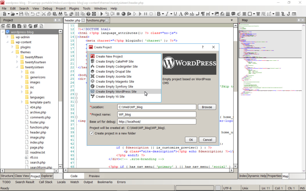IDE for WEB Programming