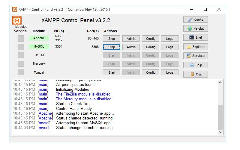 XAMPP Tools