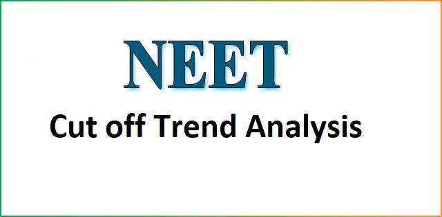 NEET Cut off Trend Analysis