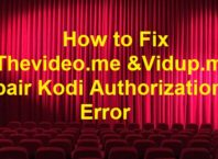fix Thevideo.me and Vidup.me pair Kodi Authorization Error