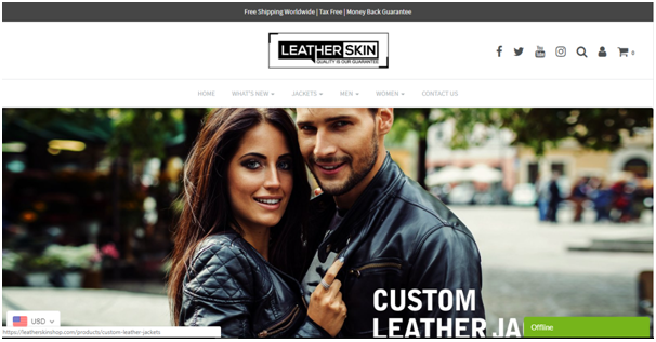 leather skin shop