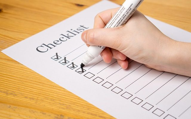 Checklist for Your Startup