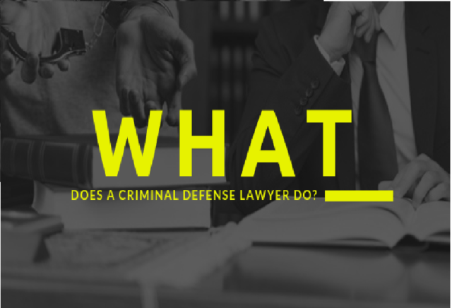 What does a criminal defense lawyer do_