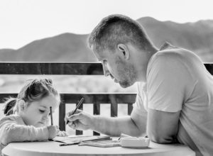 Child With Exam Preparation