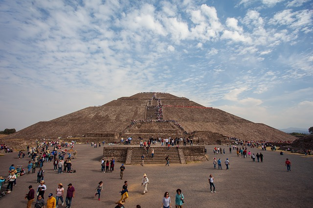 Massive Pyramids at Teotihuacan