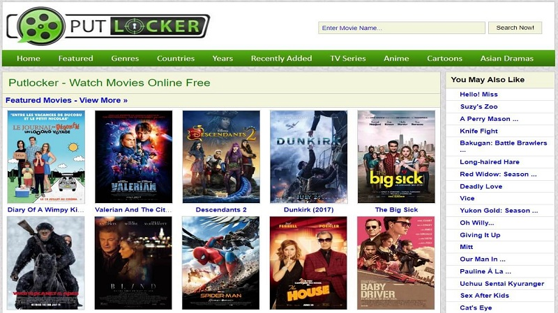 PutLocker-Best Alternatives to GoMovies