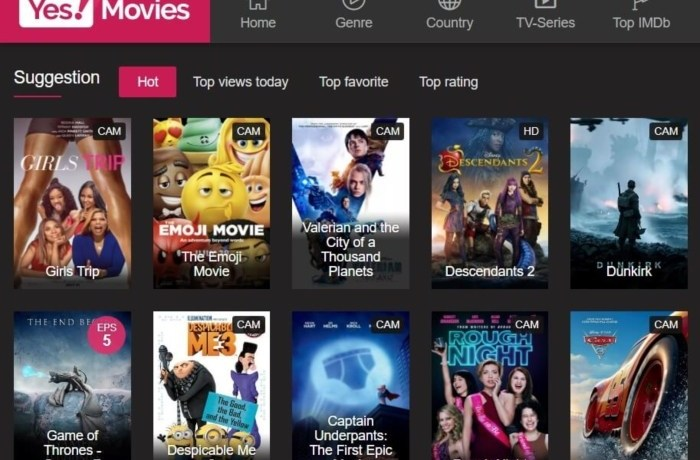 YesMovies-Alternatives to GoMovies