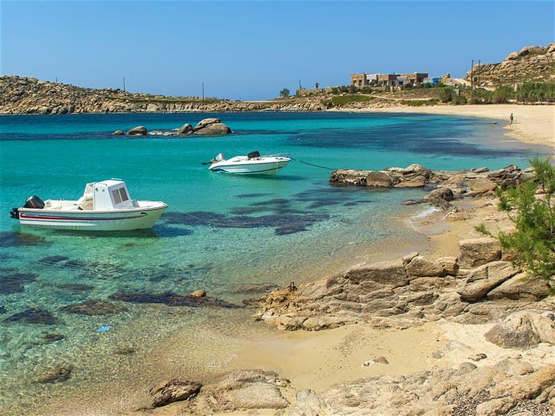 mykonos-relax beach