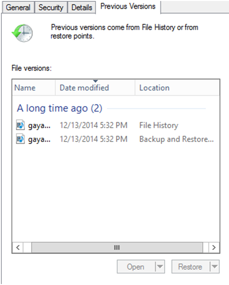 Recover images through Windows backup-2