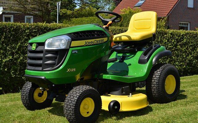 ride-on mower